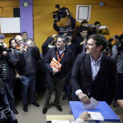 Ciudadanos-puolueen johtaja Albert Rivera