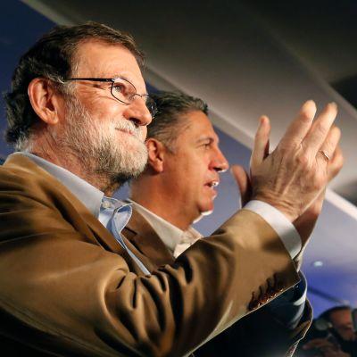 Rajoy besöker Katalonien.