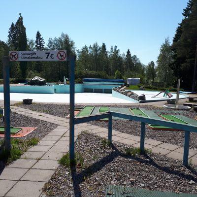 FantaSea vattenpark i Jakobstad.