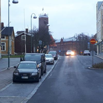 Visasbacken i Jakobstad