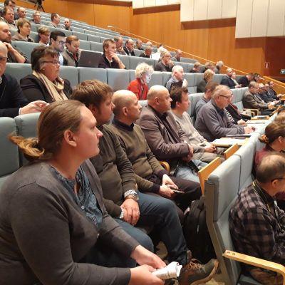 Seminariet Fiskodlingens nuläge och möjligheter i Jakobstad 2.12.2019