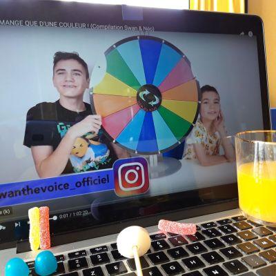 Minderåriga pojkarna Néo och Swann har flera miljoner trogna följare på youtube.