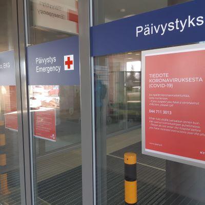 Kuopion yliopistollisen sairaalan päivystys