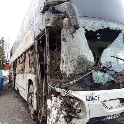 Iisalmen kolaroitu linja-auto