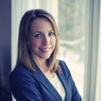 Psykologen Anna Bennich