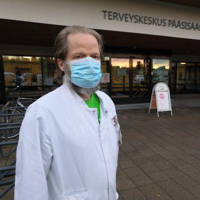 Euran tartuntataudeista vastaava lääkäri Tami Siren.