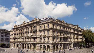 Credit Suisses högkvarter i Zurich