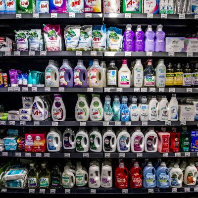 tvättmedelsprodukter