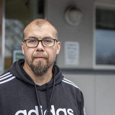 Eksoten kokemusasiantuntija Kimmo Puhakainen.