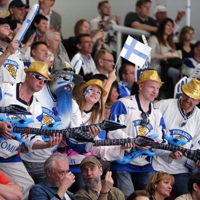 Finländska anhängare, ishockey-VM 2016.