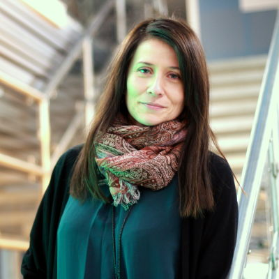 Carina Nåhls är flyktingkoordinator i Korsholm