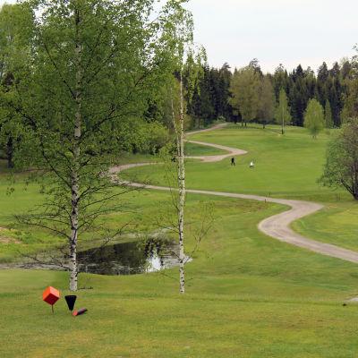 Vy över Kurk golfbana