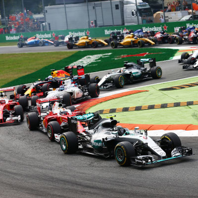 Nico Rosberg i ledning