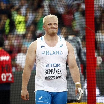 Tuomas Seppänen, VM 2015.