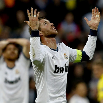 Sergio Ramos en slagen man i Madrid.