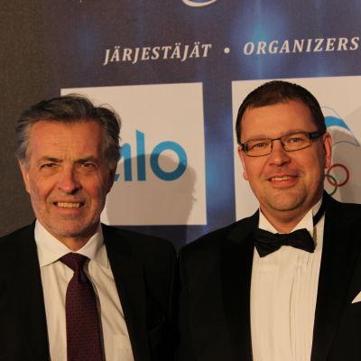 Jan-Erik Enestam och Michael Oksanen