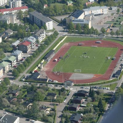 Centralidrottsplan i Borgå.