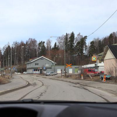 Vy från Hindhår by i Borgå