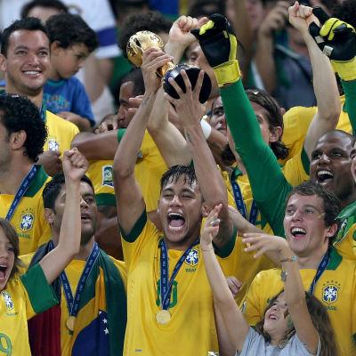 Brasilien vann Confederations Cup
