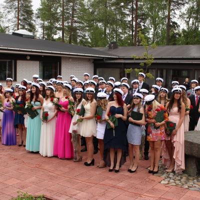 Studentdimission vid Korsholms gymnasium