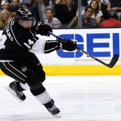 Justin Williams vinner kanske Stanley Cupen med Los Angeles Kings 2014.
