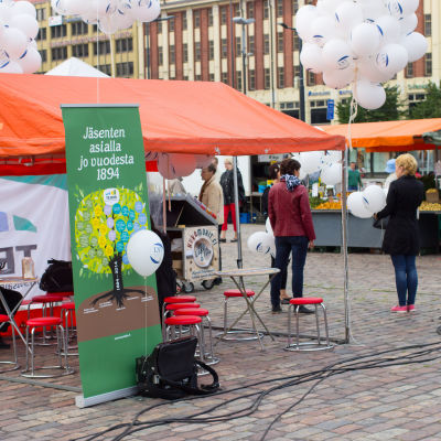 Team firar 120 år an finländsk fackrörelse.