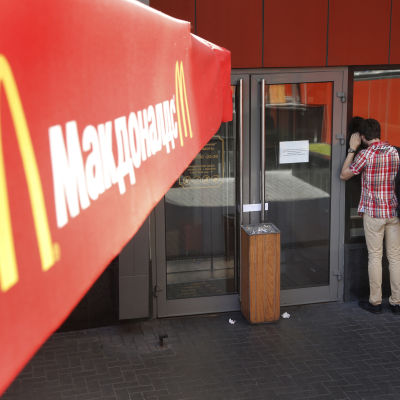 McDonaldsrestaurang i Ryssland.
