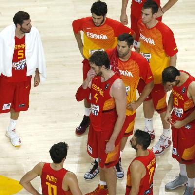 Spanien deppar efter kvartsfinalen