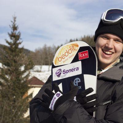 Anton Lindfors, inför VM januari 2015.