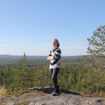 Pia-Sofia Viik Syväsenvaaralla