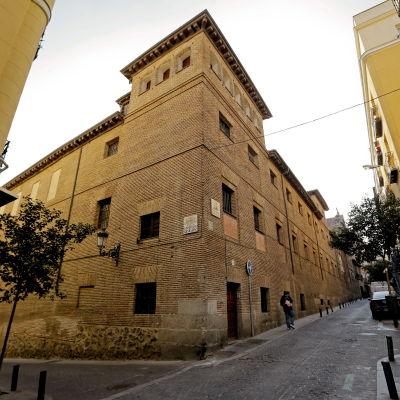 Klosterkyrka i Madrid