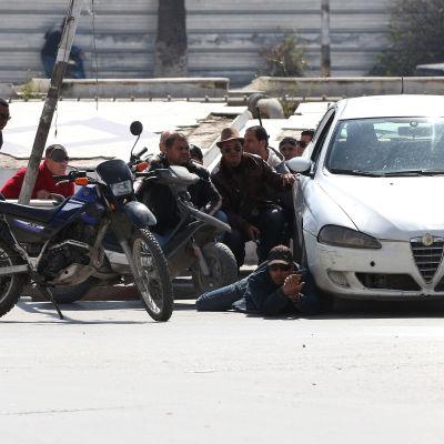 Poliser efter attack mot museum i Tunis