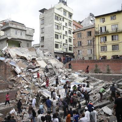 Jordskalv i Katmandu