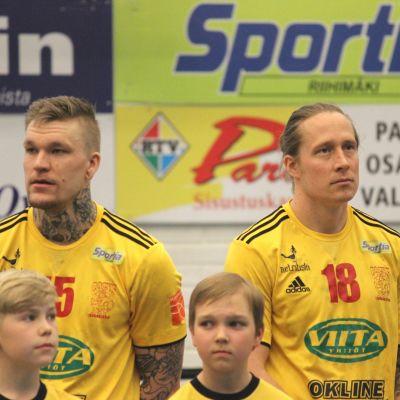 Andreas Rönnberg och Teemu Tamminen från Cocks.