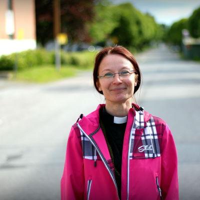 Sjukhuspräst Krista Riipinen