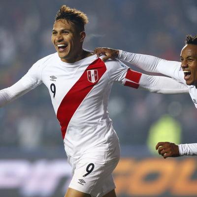 Perus fotbollslandslag tar brons i Copa America