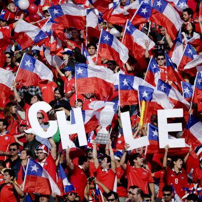 Det räckte 99 år och 173 matcher, men äntligen fick Chiles fotbollsvänner kalla sig sydamerikanska mästare.