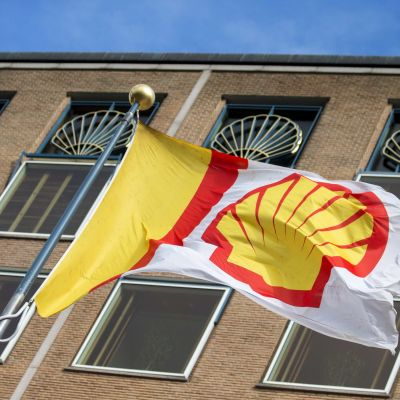 Shells huvudkontor i Haag i Nederländerna