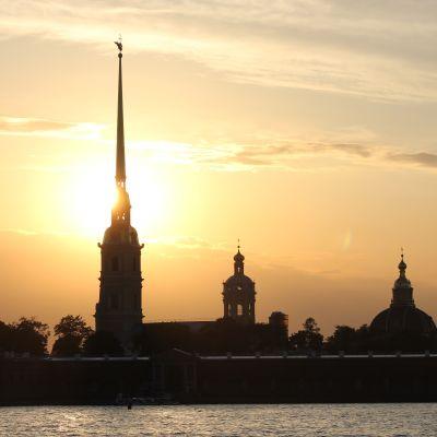 Peter-Paulfästningen i Sankt Petersburg.