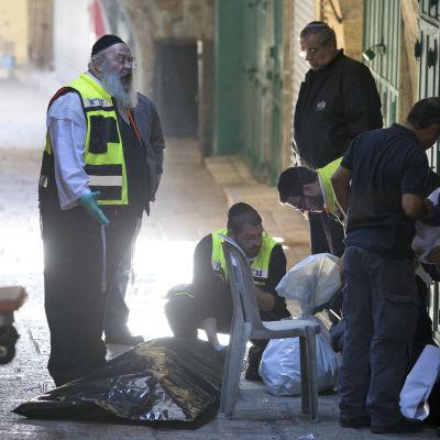 Palestinsk knivman ihjälskjuten i Gamla staden, Jerusalem