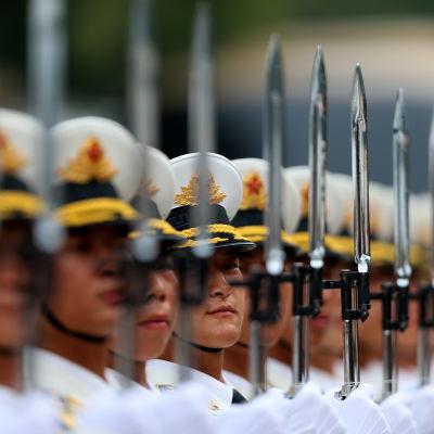 Armén i Kina.