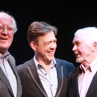Göran Schauman, Riko Eklundh och Algot Böstman.