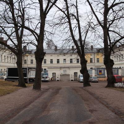 Lappikens sjukhusområde.