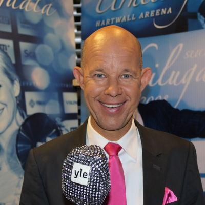 Kaj Kunnas på Idrottsgalan 2014.