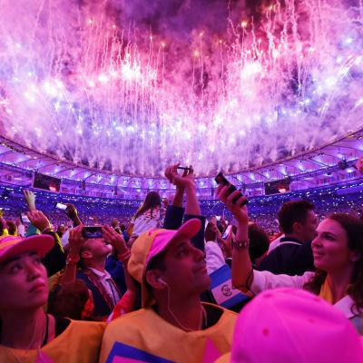 OS-invigningen i Rio 2016.