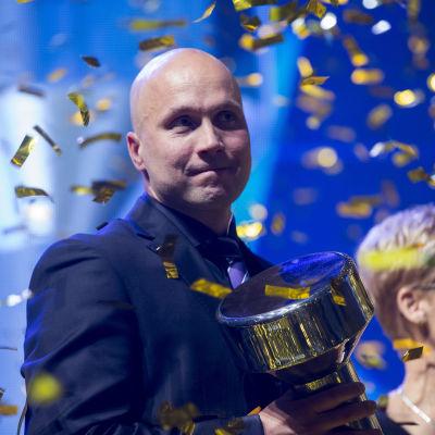 Petteri Piironen valdes till årets tränare 2015.