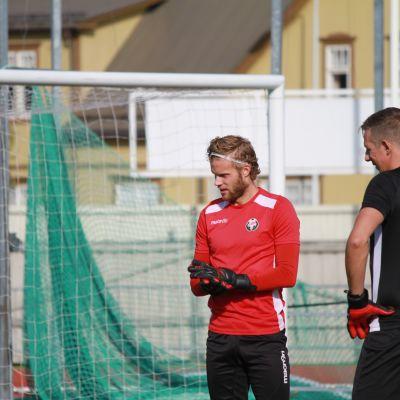 Målvakt för Jaro, Emil Öhberg