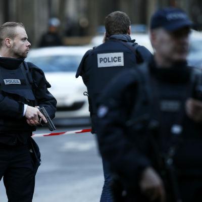 Antiterror-operation i Paris i januari 2016