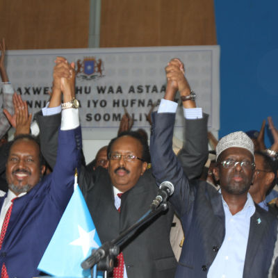 Somalias nya president