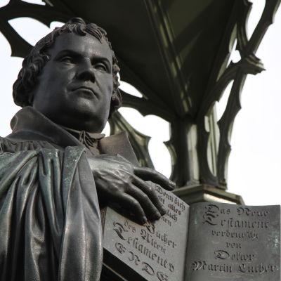 Staty av martin Luther
